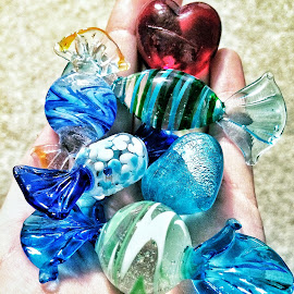Glass Cansy by Jillian Riegert - Artistic Objects Glass