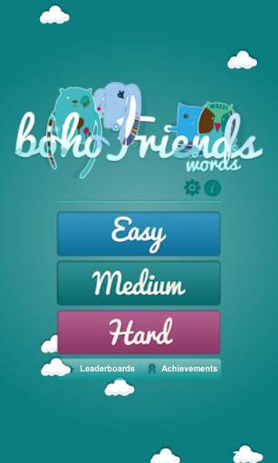 bohoFriends words