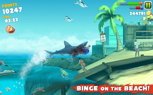 Hungry shark 2 android