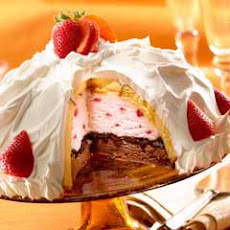 Berry Ice Cream Bombe