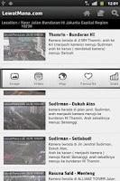 Screenshot of LM - Info Traffic Lalu Lintas
