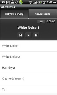 White Noise(baby stop crying) - screenshot