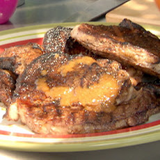 Spanish Spice Rubbed Rib-Eye with Sherry Vinegar Steak Sauce