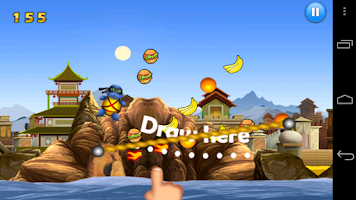 Screenshot of Flying Cute Ninja Animals Saga