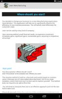 Screenshot of Lean Manufacturing Lite