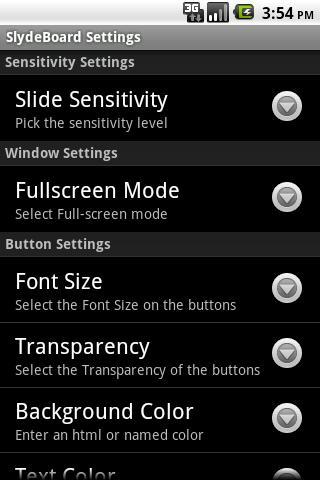 SlydeBoard: Fast Full Keyboard
