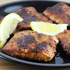Blackened Salmon With Crunchy Coconut Couscous Recipes — Dishmaps