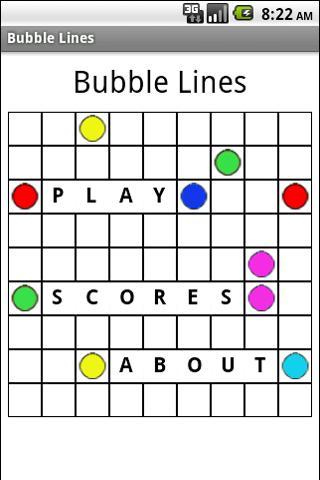 Bubble Lines