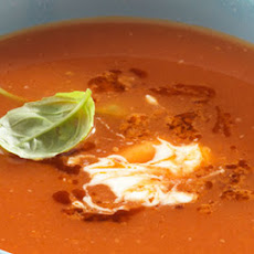Roasted Tomato And Red Onion Soup