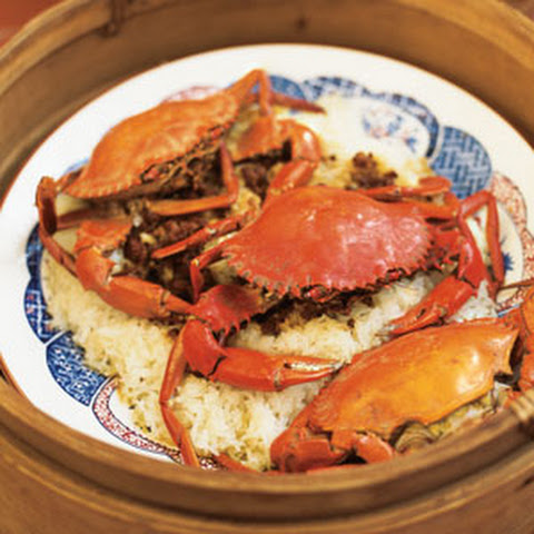 Crab with Sticky Rice