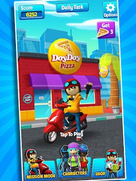 Subway Scooters Free -Run Race apk screenshot