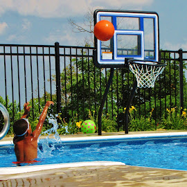 by Aj Winterberg - Novices Only Sports ( water, basketball, child, young, swimming )