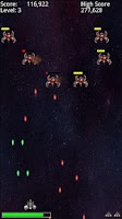 Screenshot of Free Space Invaders Style Game
