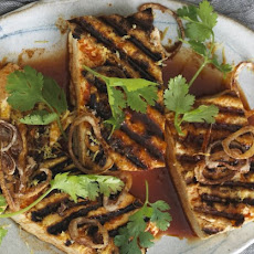 Grilled Tofu with Crispy Shallots Recipe