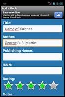 Screenshot of Digital Bookcase