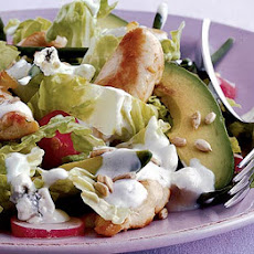 Warm Chicken & Avocado Salad