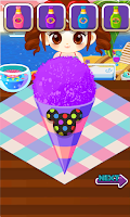 Screenshot of Judy's SnowCone Making - Cook