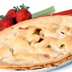 Fresh Strawberry Rhubarb Pie