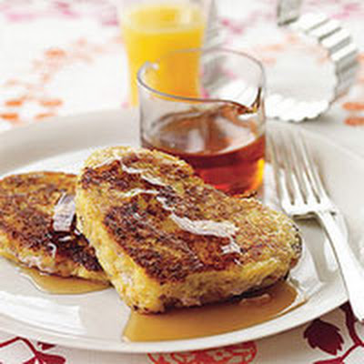 Creamy, Fruity Stuffed French Toast Hearts