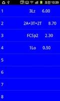 Screenshot of Figure Skating Calculator