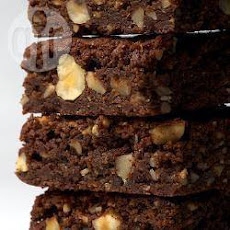 Rich Chocolate Walnut Brownies