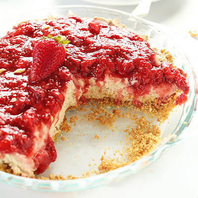 No Bake PB&J Pie