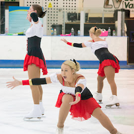 Synchro by Pete Lebow - Sports & Fitness Other Sports ( figure skating, aura, synchronised ice skating, team,  )