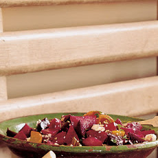 Chopped Beet Salad with Feta and Pecans