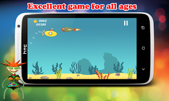 Screenshot of Submarine Infinite Runner War