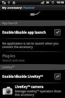 Screenshot of LiveKey™ Camera
