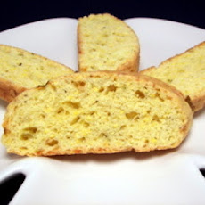 Cornmeal Chili Pepper Biscotti