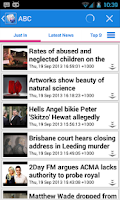 Screenshot of Australia News