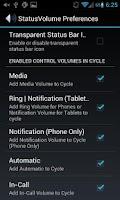 Screenshot of Status Bar Volume Panel Plus