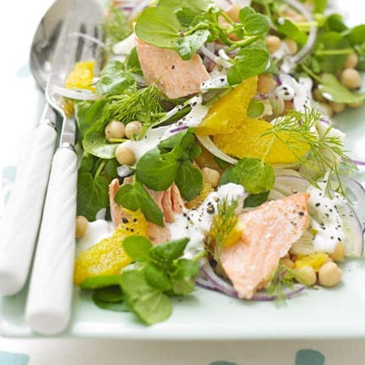 Salmon, Fennel & Orange Salad