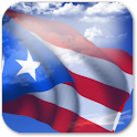 3D Puerto Rico Flag icon