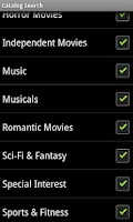Screenshot of Catalog Search For Netflix Old