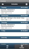 Screenshot of CUC Mobile