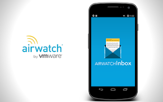 Screenshot of AirWatch Inbox
