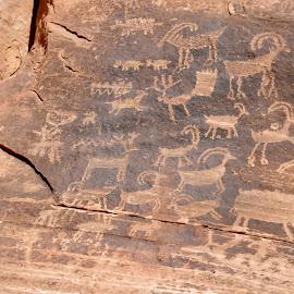 clear creek 4 by Debbie Theobald - Nature Up Close Rock & Stone ( nature, petroglyphs, arizona, unedited, rocks,  )
