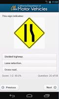 Screenshot of DMV NOW