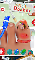 Screenshot of Nail Doctor - Kids Games