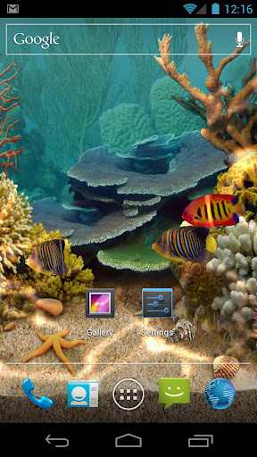 Living Aquarium Wallpaper