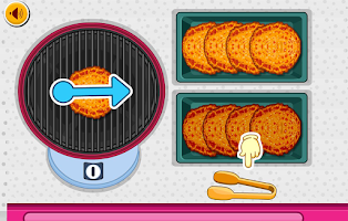 Screenshot of Fajita Burger Maker