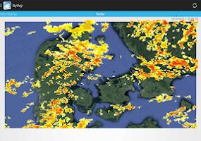 Screenshot of ByVejr - DMI - Yr - Vejret