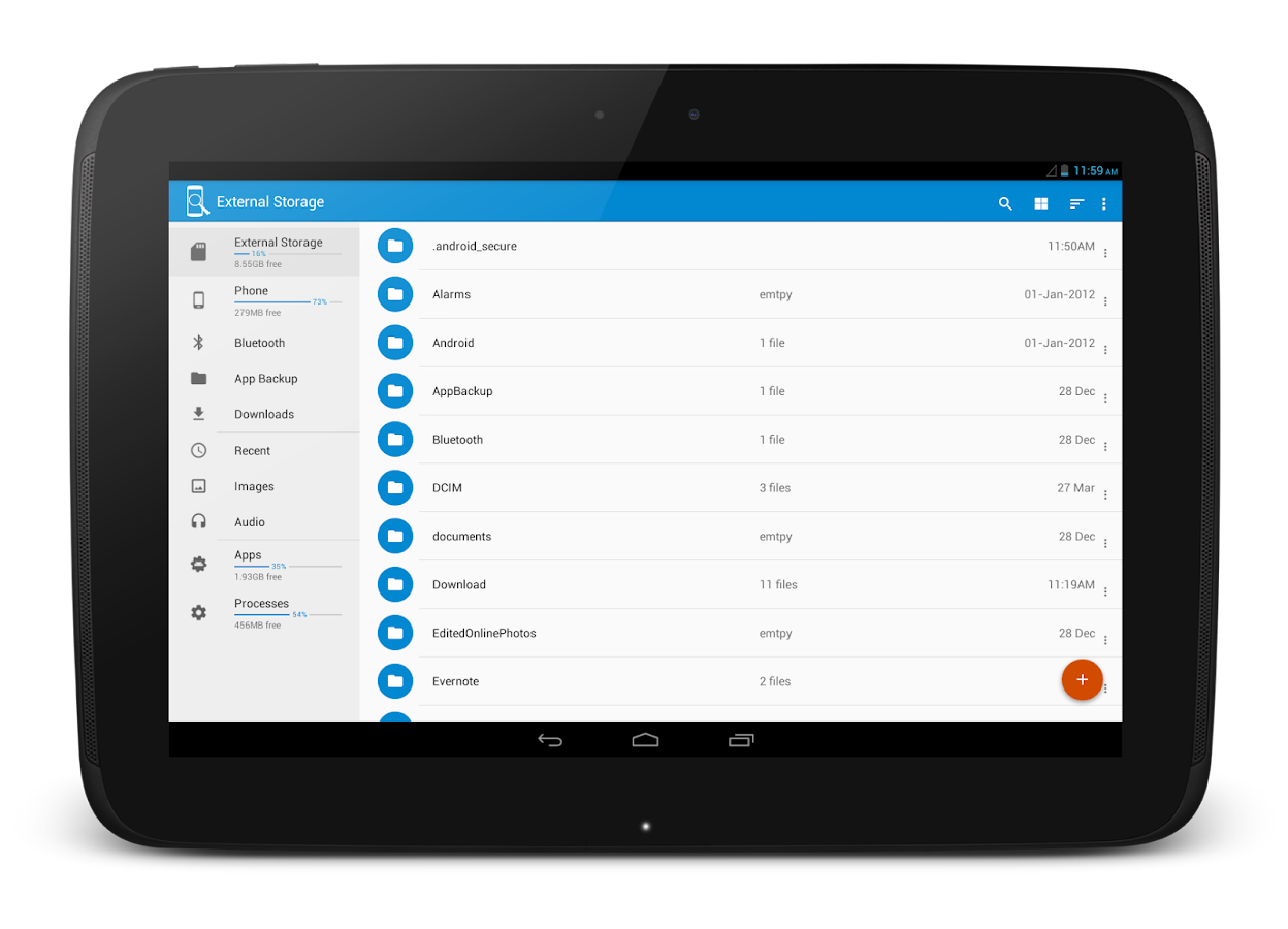 Storage Network, Root and App File Manager Pro Screenshot 8
