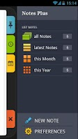 Screenshot of Notes Plus