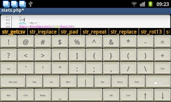 Screenshot of Programmer Keyboard