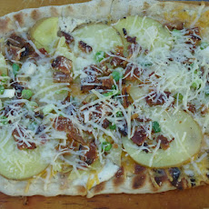 Grilled Potato Flatbread