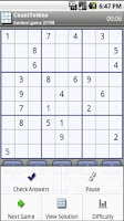Screenshot of Count To Nine Sudoku