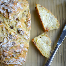 Soda Bread with Port-Soaked Raisins